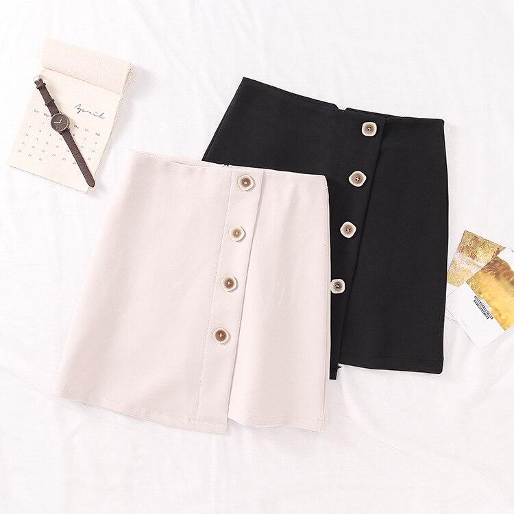 2019 Spring Korean-style Elegant Versatile Girl'S Half-length Short Skirt Ultra-Stylish New Style Casual Western Style 6.4