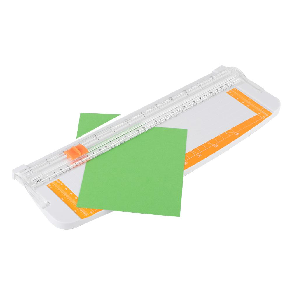 Triple Track Paper Trimmer Blades For Photo Paper Cutter Guillotine Card Trimmer Ruler Home Office Mini Paper Cutter Drop Ship