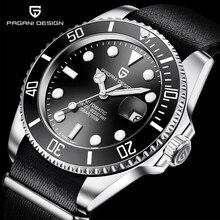 PAGANI DESIGN 2020 Men Mechanical Watch Luxury Fashion Water