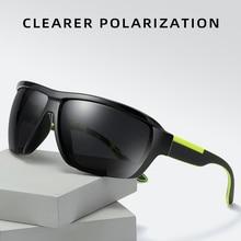 Men's Sunglasses Cycling Sunglasses Fashion Outdoor Polarized Glasses Bike Sport Eyewear For Drive Fishing Hiking Street Shot