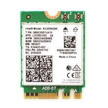 2400 Мбит/с беспроводная сетевая карта AX200NGW Wifi для Intel AX200 Wi Fi Bluetooth 5,0 Dual Band 2,4G/5G 2x2 NGFF M.2 802. 11ac/ax