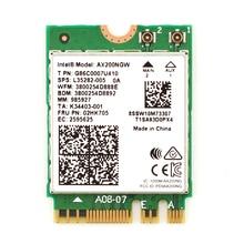 2400Mbps Draadloze AX200NGW Wifi Netwerkkaart Voor Intel AX200 Wifi Bluetooth 5.0 Dual Band 2.4G/5G 2X2 Ngff M.2 802.11ac/Ax