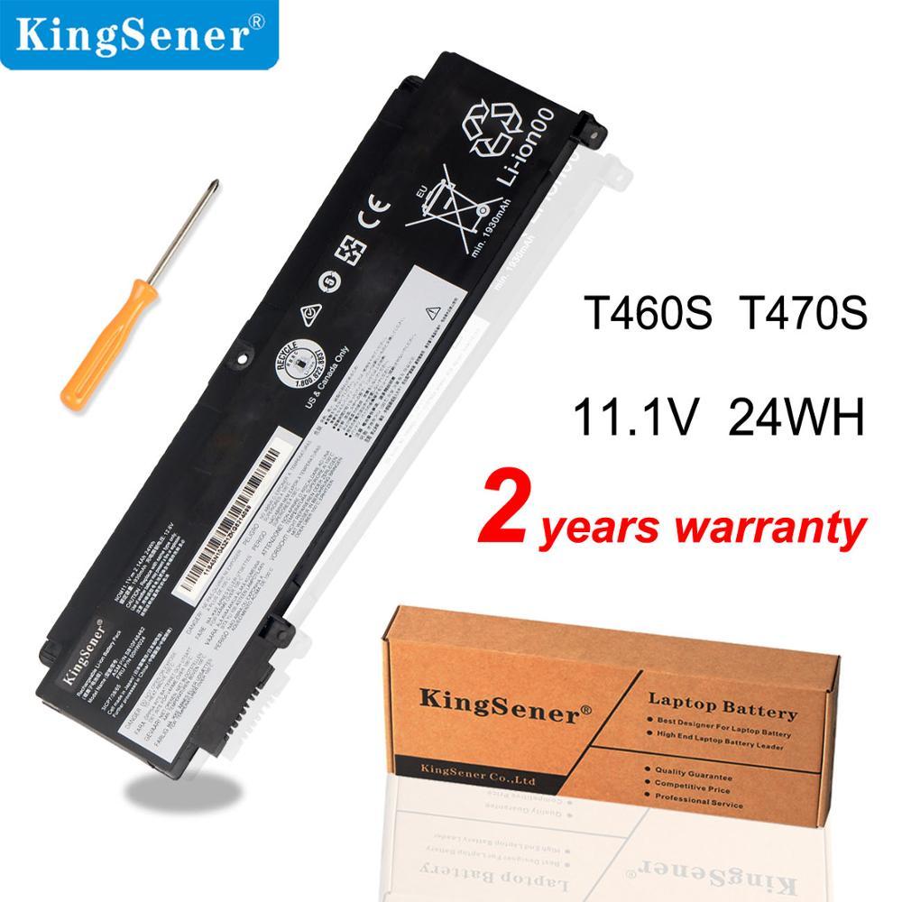 KingSener T460s Laptop Battery For Lenovo T470S 00HW024 00HW025 00HW022 01AV407 01AV406 00HW023 SB10J79004 SB10F46463