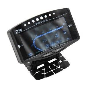 Image 5 - 12 فولت 24 فولت سيارة شاحنة LCD الرقمية النفط قياس ضغط فولت الفولتميتر مقياس درجة حرارة الماء معيار الوقود/مقياس سرعة الدوران 5 وظيفة في 1