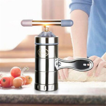 Noodle-Maker Fruits-Juicer Pastas-Making-Machine Manual Stainless-Steel Different-Molds