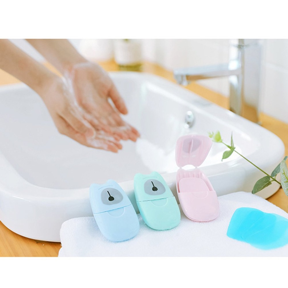Single Use Disinfecting Hand Soap Sheets