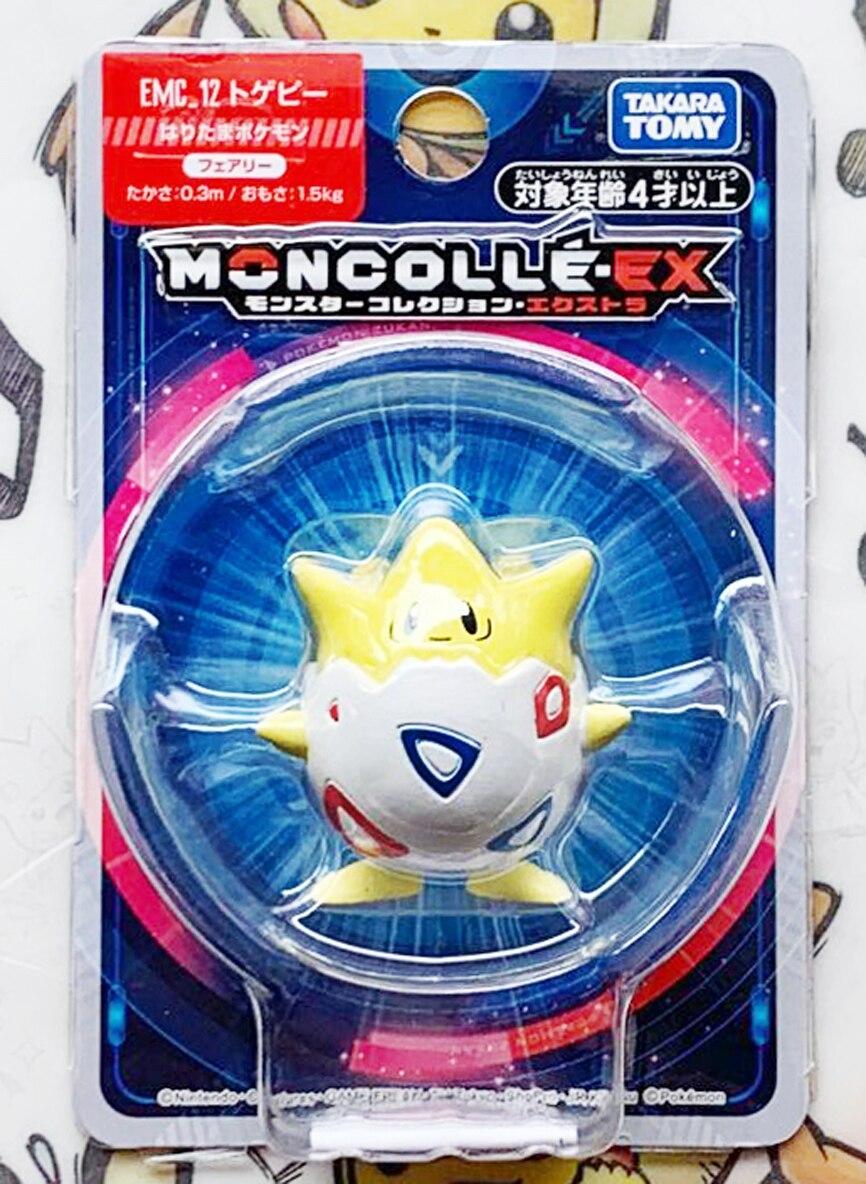 TAKARA TOMY Pokemon pikachu Togepi 12 anime action & toy figures model toys for children