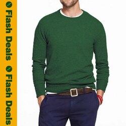 5XL hommes pull mince pulls hommes chandails solide coton tricoté pull Jersey garçon tricots printemps hiver marine noël vert