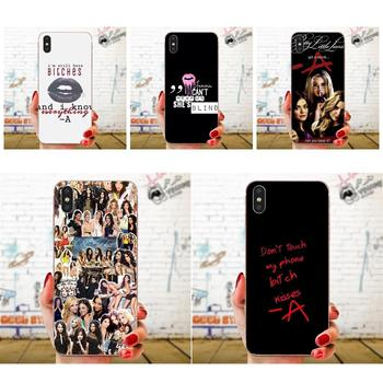 TPU Bags Cases Girls Little Liars Spencer Hannah For Apple iPhone 4 4S 5 5C 5S SE 6 6S 7 8 11 Plus Pro X XS Max XR image