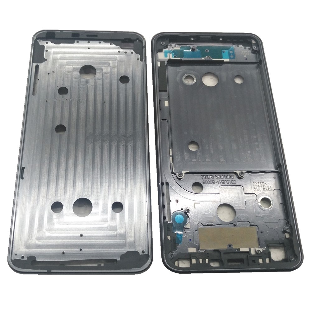 Azqqlbw For <font><b>LG</b></font> <font><b>G6</b></font> H870 <font><b>H873</b></font> VS998 Front Housing Middle Frame Plate Middle frame Replacement Part For for <font><b>LG</b></font> H870 <font><b>H873</b></font> Frame image
