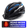 Victgoal capacetes de bicicleta led das mulheres dos homens esportes polarizados óculos de sol luz traseira mtb mountain road ciclismo capacetes 7