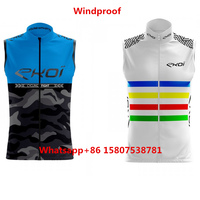 2019 ekoi Pro team skinsuit and Wind proof Vest custom Outdoor windbreak Cycling ciclismo maillot sexy body Cycling Jersey