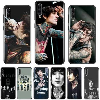 Bring Me the Horizon bmth coque Phone Case For Samsung A20 A30 30s A40 A7 2018 J2 J7 prime J4 Plus S5 Note 9 10 Plus image