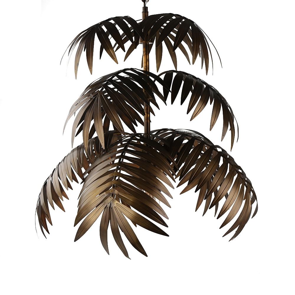 coconut tree chandelier