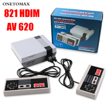 цена на Built-In 821/620 Games Mini TV Video Game Console 8 Bit Retro Classic Games Handheld Gaming Player Video Console AV/HDMI Output
