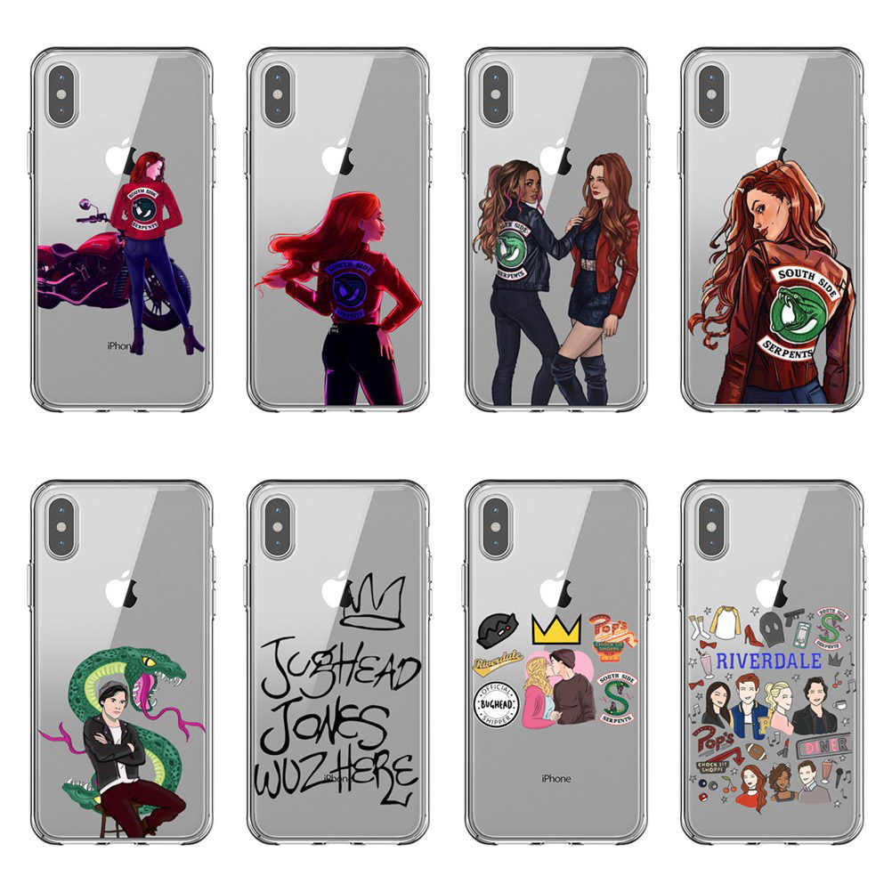 American TV Riverdale Phone Case For iPhone 5s se 6 6S Plus 7 7 ...