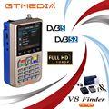 GTMEDIA V8 Finder спутниковый Finder DVB S2 Цифровой высокой четкости Sat Finder DVB S2X HD 1080P спутниковый счетчик Satfinder freesat
