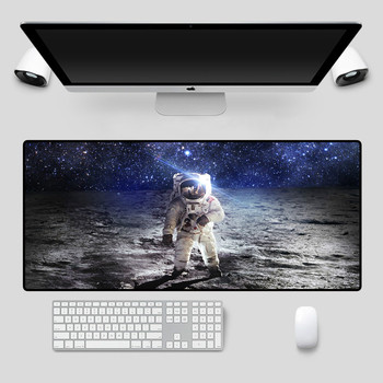Mairuige Planet Table Mat Starry Sky Mouse Mat XXL Gamer Table Mat Computer Keyboard Mat 90x40cm Gaming Mouse Pad Desk Mat many playmat choices 565 mtg board game mat table mat for magical mouse mat the gathering