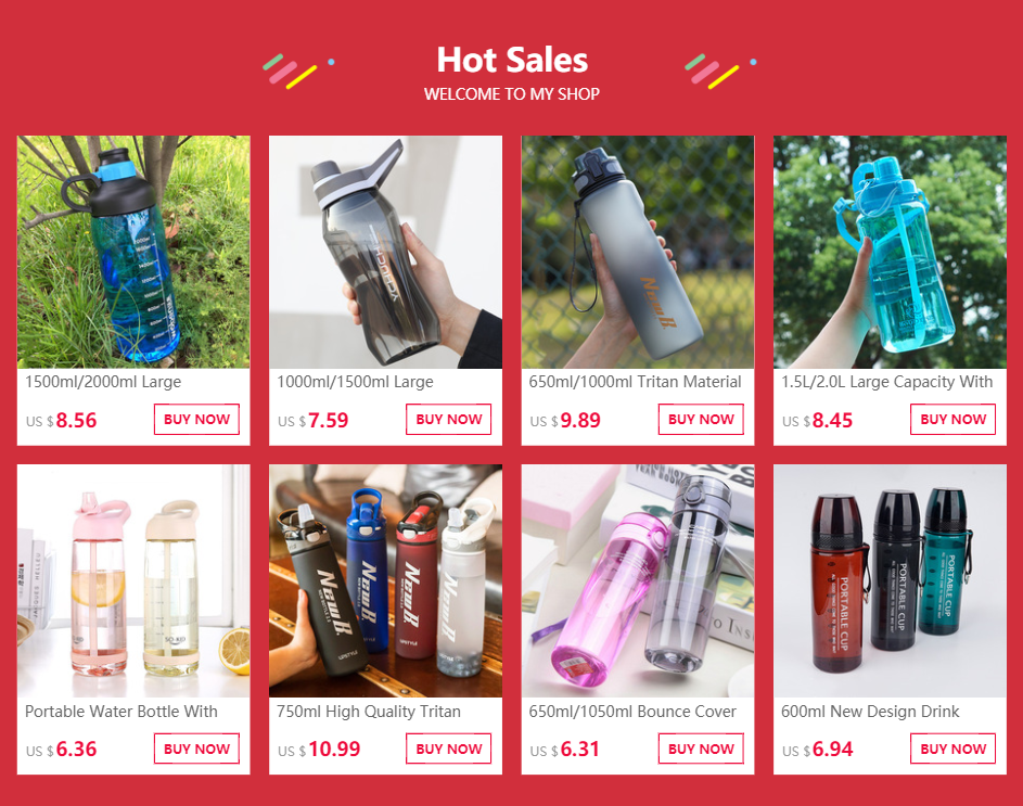 H082cd89523e442a2921beac824ebabcdA 1000ml/1500ml Large Capacity Portable Sports Water Bottles Gym Fitness Sports Shaker Water Drink Bottle Eco-Friendly Waterbottle