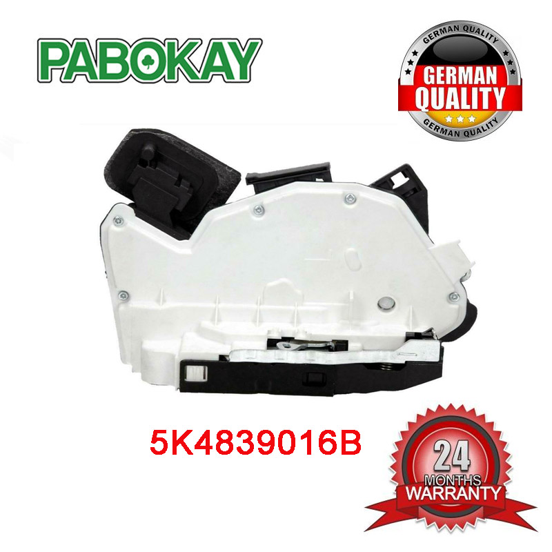 FOR VW Golf Jetta Polo Scirocco <font><b>Sharan</b></font> Tiguan Rear Right Door <font><b>Lock</b></font> Mechanism 5K4839016B image