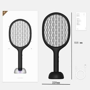 Image 5 - XIAOMI SOLOVE P1 אנכי יתושים רוצח USB נטענת כף יד חשמלי יתושים רוצח סופר ארוך סוללה טוס מחבט בית