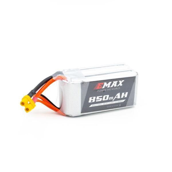 EMAX 14.8V 850mAh 4S 80/160C Corridas de Bateria Lipo para RC FPV Zangão