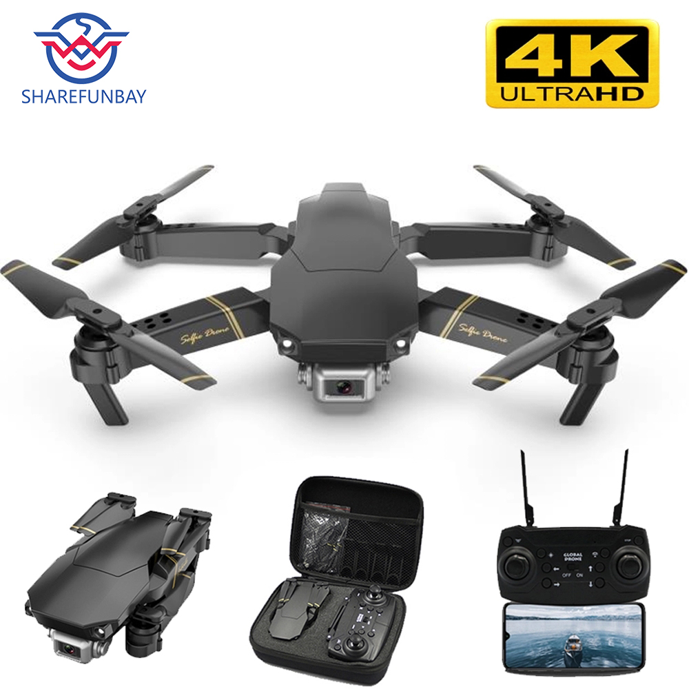 GD89 Drone 4K Camera HD 1080P WiFi FPV Drone Height Keeps One-button Return To Quadcopter RC Helicopter Dron Drone With Camera