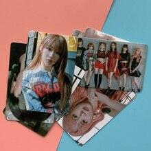 цена на 10Pcs/Set Kpop GWSN New Album The Keys Photocard Sticker Crystal Card Sticker