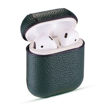 Genuine Leather Earphone Case for Airpods 1 2 Bluetooth Wireless Headphone Protective Case For AirPods Pro 3 For Airpods 3 Funda