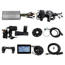 Risunmotor Ebike 36V/48V 750W 1000W 30A Regeneratieve Controller Kit Met LCD3 Display