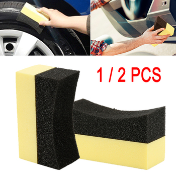 1/2PCS Car wash Polishing detailing Brush Wheels Tire Hub Waxing Cleaning Tools Dust Brush Car Accessories Auto Car Detailing image