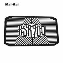 MAIKAI For YAMAHA XSR900 XSR 900 2016-2019 Aluminum Motorcycle Radiator Guard Protector Water Tank