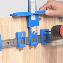 Locator-Tool Dowelling Drill-Guide-Template Woodworking Jig Punch for Installation Cabinet-Hardware