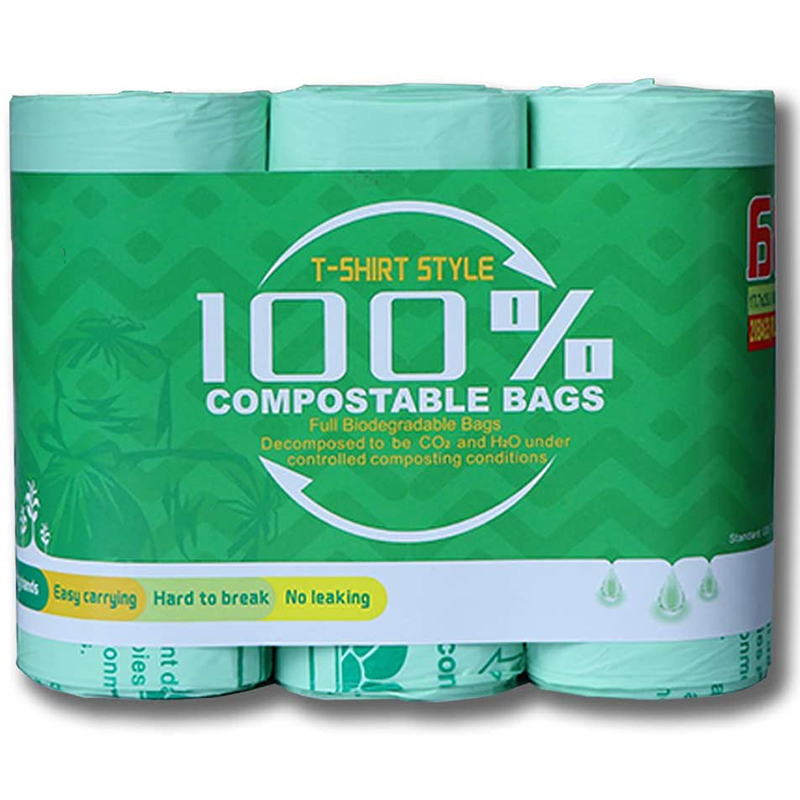 Biodegradable Compostable Garbage Bin Roll Bags Eco Friendly Garbage Bags » Planet Green Eco-Friendly Shop
