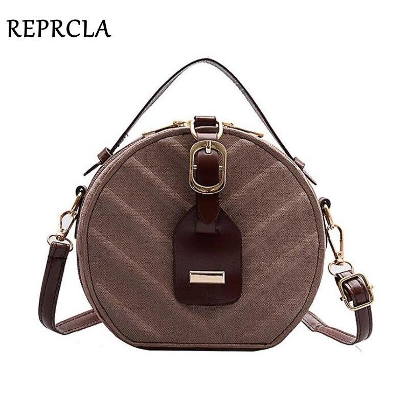 Hot Circular Women Bag Designer PU Leather Ladies Handbags Shoulder Bag Women's Crossbody Messenger Bags