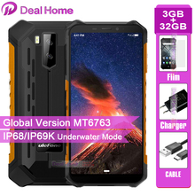 Ulefone Armor X5 IP68 robusto Smartphone Android 5.5 pollici 9.0 3GB 32GB 5000mAh cellulare 4G Dual SIM NFC cellulare Android