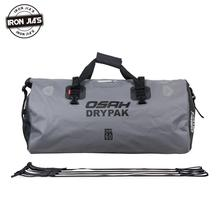 Motorcycle Saddle Bags Waterproof Tail Back Seat Bags 60L Travel Bag Motorbike Scooter Luggage Rear Seat Pack 40L 25L Tank Bags цена