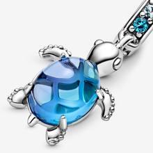 2020 nueva plata de ley 925 de serie con diseño marino cuentas del encanto Fit Original Pamura encanto pulsera regalo de la joyería