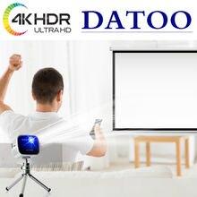 Datoo livego projetor tela 4k completa hd acessórios para casa suporte smart/android tv pc