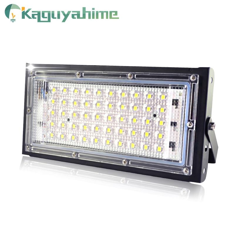 Kaguyahime LED Spotlight 50W Reflector Lighting 220V 240V RGB Remote Light Colorful Lamp IP65 Waterproof Outdoor Spot Light