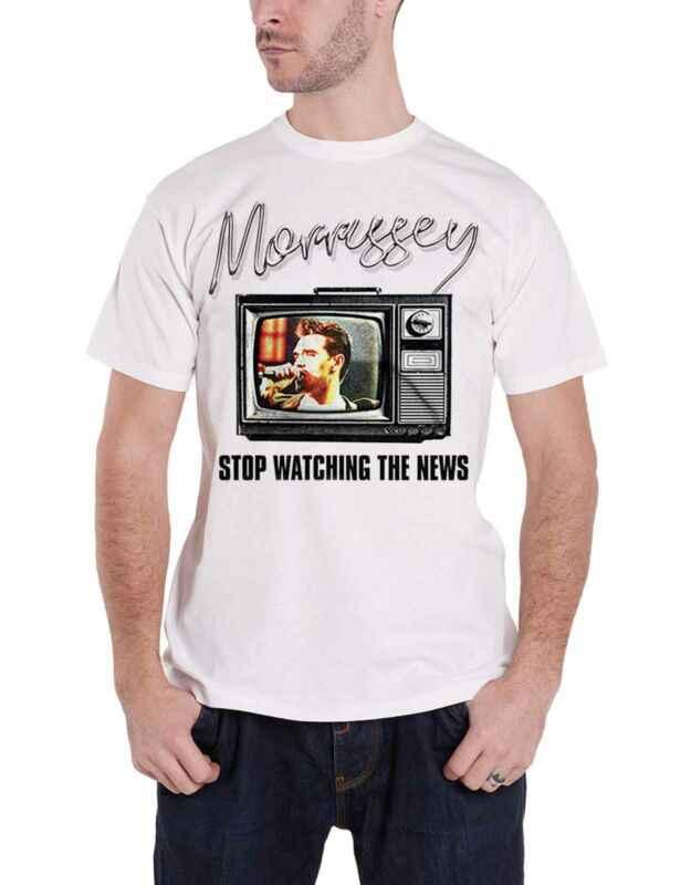 Morrissey Áo Dừng Lại Xem Tin Tức Chính Thức Mới Nam Trắng Size S