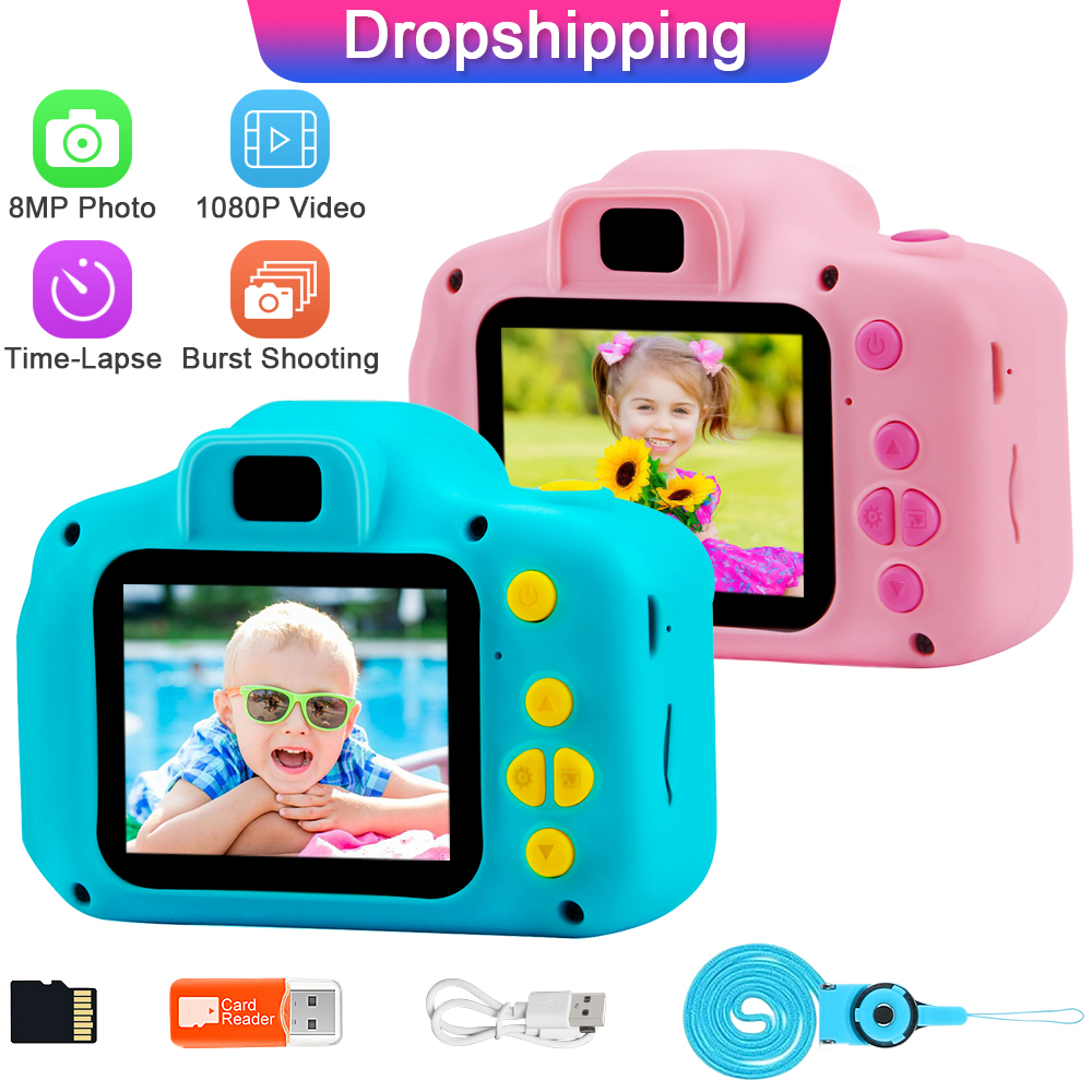 Toy-Camera Camcorder Digital Prograce Girl Kids Child for Boy Birthday-Gift