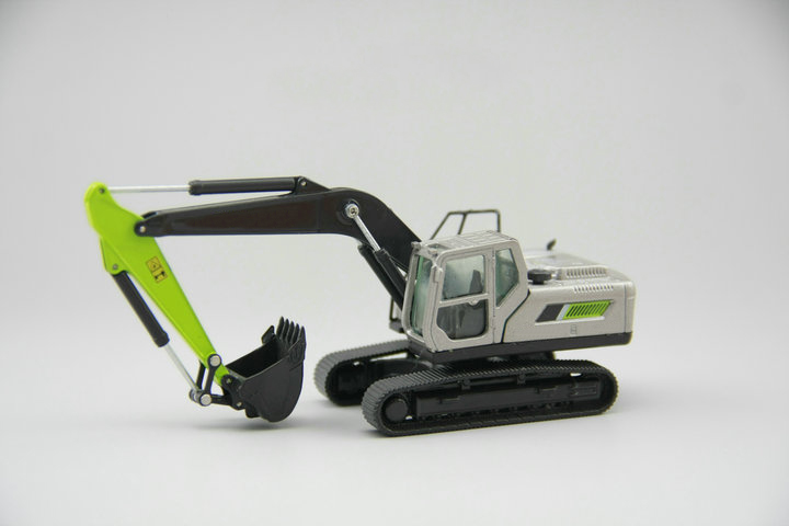 OFERTA ESPECIAL fina 1: 87 ZE210GLC aleación excavadora ingeniería modelo de vehículo modelo de colección-in Troquelado y vehículos de juguete from Juguetes y pasatiempos    1