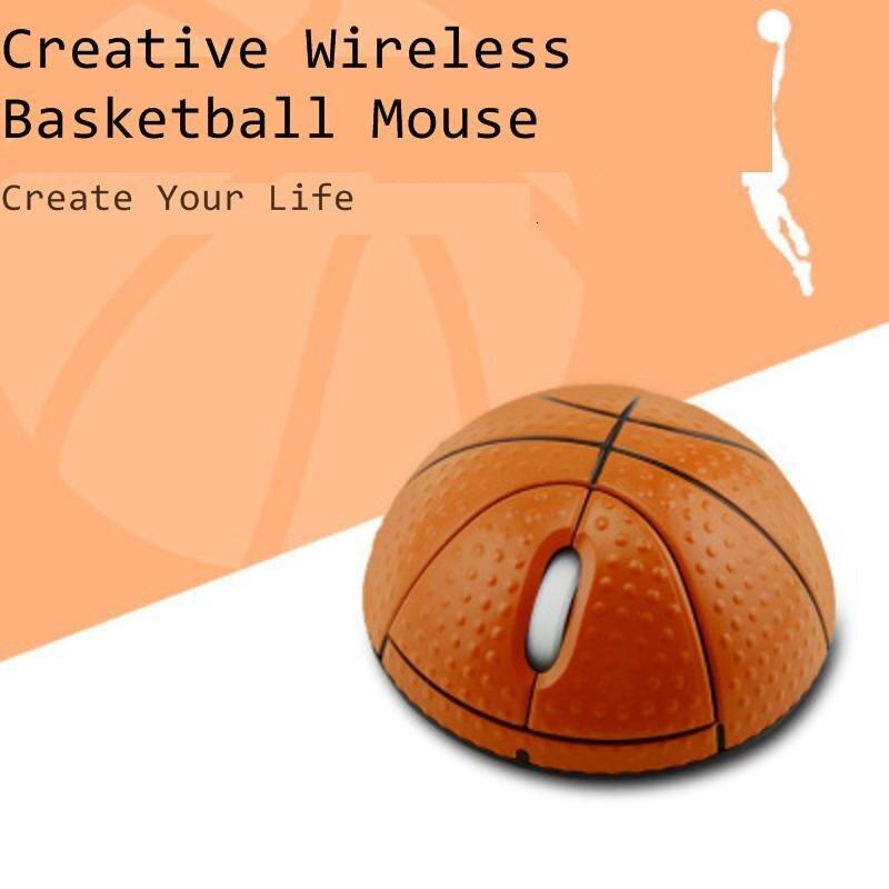 CHYI Мини Баскетбол Форма Беспроводная Usb компьютерная мышь 3d портативная детская игрушка оптическая PC Mause эргономичная мышь для ноутбука Macbook-0