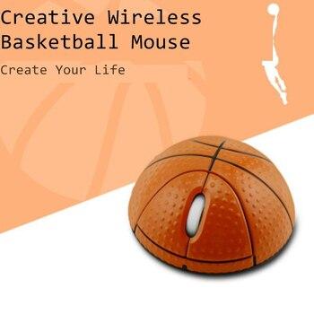 CHYI Мини Баскетбол Форма Беспроводная Usb компьютерная мышь 3d портативная детская игрушка оптическая PC Mause эргономичная мышь для ноутбука Macbook