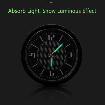 Zegar samochodowy Luminous Table Refit wewnętrzne zegarki kwarcowe nowość dla BMW dla Audi dla volkswagena dla mercedesa dla hondy dla forda tanie i dobre opinie CN (pochodzenie) Quartz + glass+Zinc alloy Car Clock Decoration 100g Clock Luminous Dashboard Air Conditioner Outlet For BMW Car Clock