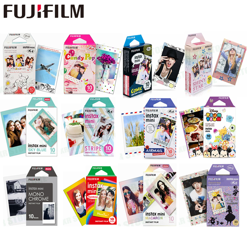 Fujifilm 10-100 Blätter Alice Cartoon Instant Foto Papier cartoon Film Für Fuji Instax Mini 8 9 70 7s 50s 50i 90 25 Teilen SP-1 2