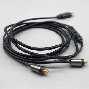 Image 5 - Cable de actualización MMCX tipo c para XIAOMI 6x, MX, MX2S, con micrófono, para HUAWEI Mate10, P20, Samsung A8S, A60, Sony T9, XZ, XZ2