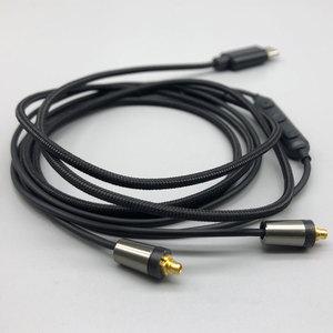 Image 5 - Type c MMCX Upgrade Kabel voor XIAOMI 6x MX MX2S met Microfoon Voor HUAWEI Mate10 P20 Samsung A8S A60 sony T9 XZ XZ2 Oortelefoon Kabel