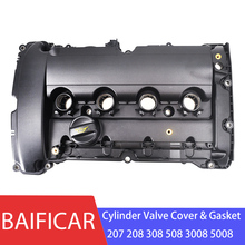 Baificar Фирменная Новинка OEM двигатель Головка блока цилиндров прокладки клапанной крышки& Прокладка V759886280 для peugeot 207 208 308 508 3008 5008 Citroen C4 C5 1,6 T